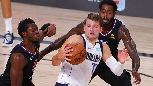Luka Doncic was in scintillating form for the Mavericks but ended up on the losing team