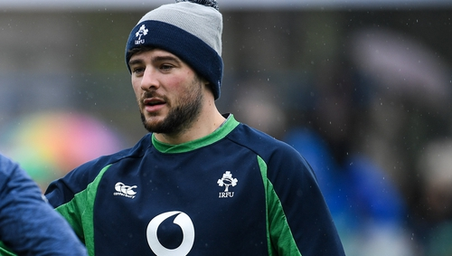 Robbie Henshaw: 'My dad joked that we were all speaking at the end of the ten weeks'