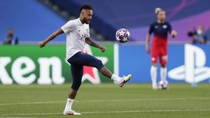 Neymar has tested positive for coronavirus