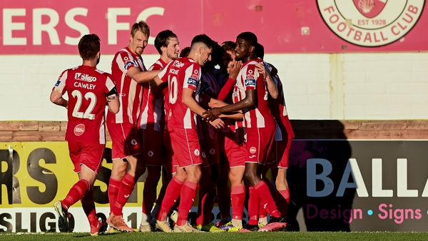 Alex Cooper gave Sligo Rovers victory with a 93rd minute winner