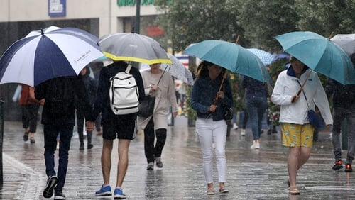 The mix of wet, cold and windy weather made for a poor summer
