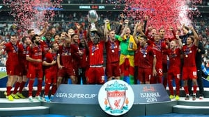 Liverpool beat Chelsea to claim the Super Cup last year
