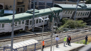The train ended up derailing on an unused track at the Carnate-Usmate station, outside Milan
