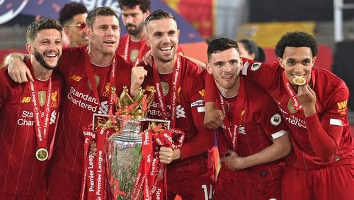 Liverpool ended a 30-year wait for league glory in July