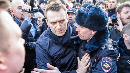 Alexei Navalny has been repeatedly detained for organising public meetings and rallies