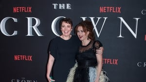 (L-R) Olivia Colman and Helena Bonham Carter - Reprising their roles as Britain's Queen Elizabeth II and Princess Margaret respectively