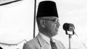 Ahmad Tawfiq Al-Madani in 1950. Photo: Photo12/UIG/Getty Images