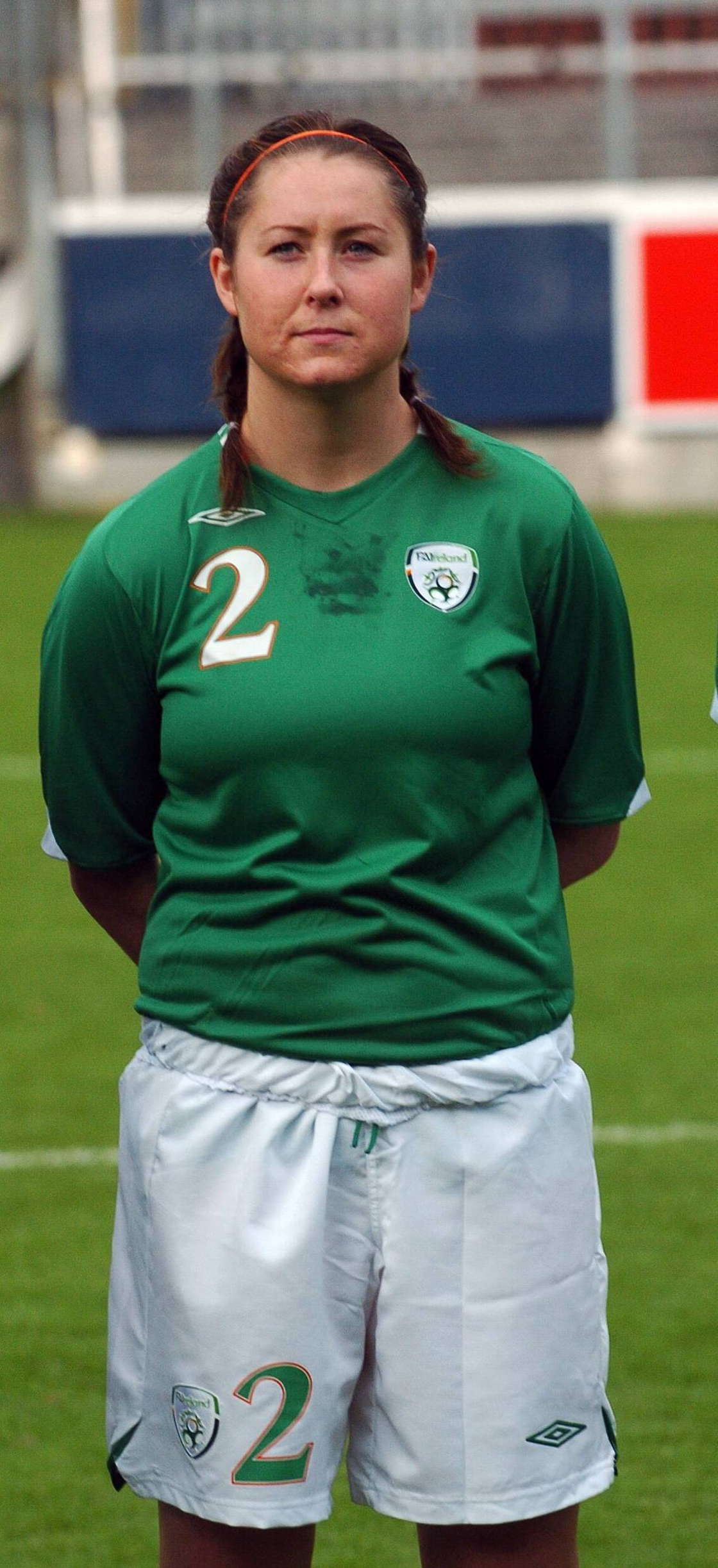 Image - Curtin on Ireland duty in 2007