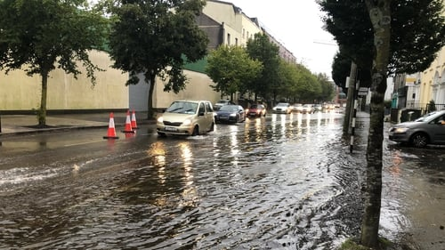 Flooding is expected following predicted heavy rainfall tonight and tomorrow (File pic)