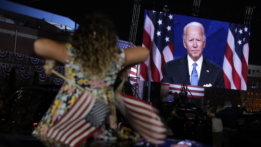 Biden accepts nomination for White House race