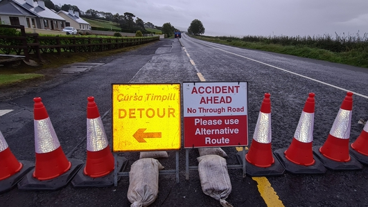 Man and 2 children killed in Donegal road incident
