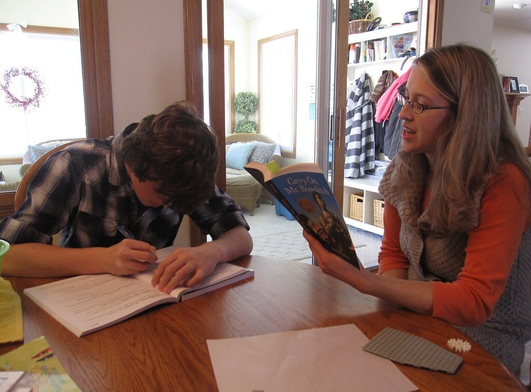 Children and parents return to homeschooling