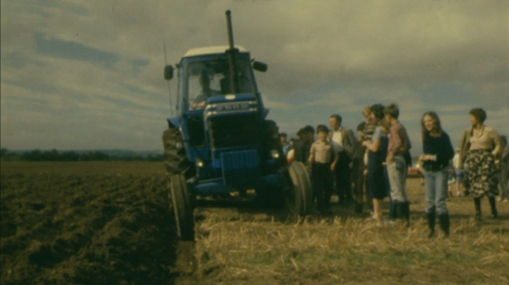 Pat Bolger's marathon ploughing record attempt in 1980.