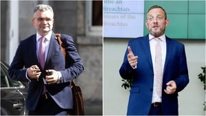 Dara Calleary (L) and Jerry Buttimer have both apologised over attending the event (Pic: RollingNews.ie)