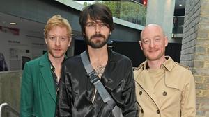"""Biffy Clyro (L-R bassist James Johnston, singer-guitarist Simon Neil, drummer Ben Johnston) - """"This album is full of hope"""""""
