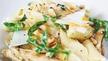 Nevens Recipes - Chicken, rocket and pine nut pasta.