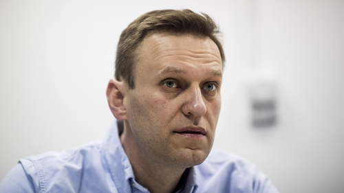 German doctors said tests indicate that Mr Navalny was poisoned