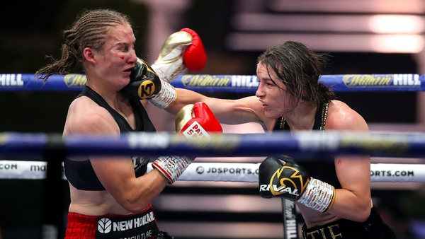 The judges were unanimous in their agreement that Taylor won the fight, scoring it98-93, 96-94, 96-94 in her favour