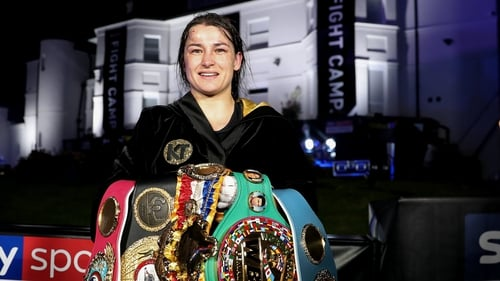 Katie Taylor holds all the belts in the lightweight division