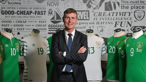 Stephen Kenny has named his first squad