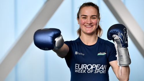 Kellie Harrington is an ambassador for the European Week of Sport 2020