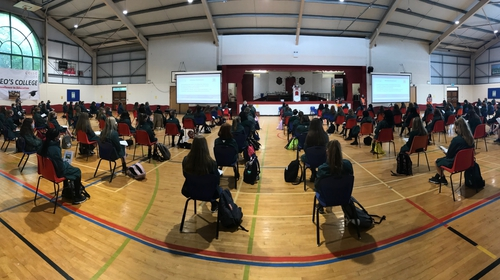 St Leo's College in Carlow welcomed first-year students