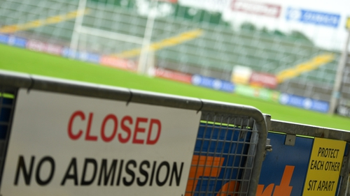 Fans were unable to attend the hurling final at Chadwicks Wexford Park