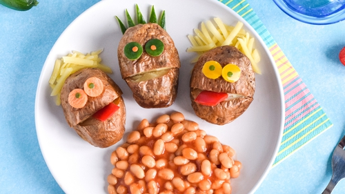 A quick and fun recipe to keep the kids happy!