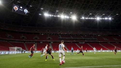 The Puskas Arena will play host to Bayern Munich and Sevilla next month