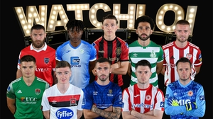 There are nine series of matches left in the SSE Airtricity League, while the FAI Cup will run until late November