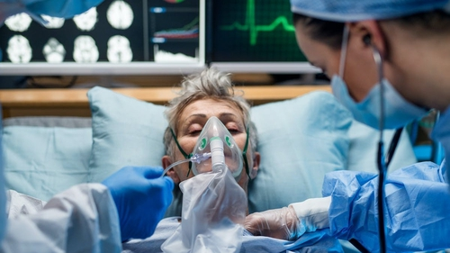 """""""A common feature for many patients that get severe Covidis serious lung damage caused by an overly vigorous immune response"""". Photo: Halfpoint/ Shutterstock"""
