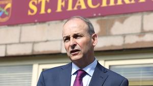 Taoiseach Micheál Martin said he would not seek to influence Ursula von der Leyen