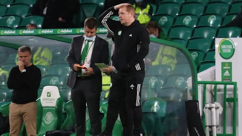 Neil Lennon saw his Celtic side exit the Champions League after losing to Ferencvaros last month