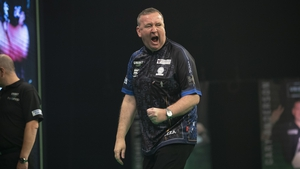 Glen Durrant is three points clear at the top of the table