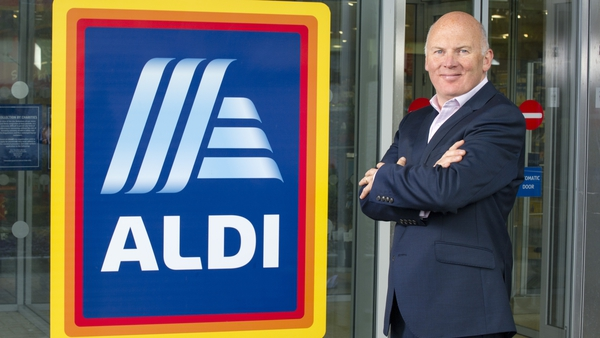 Niall O'Connor of Aldi said the news confirms the supermarket chain's commitment to Ireland