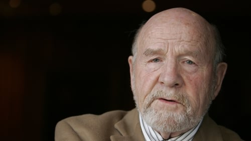 Eugene McCabe (pictured in 2008) received many awards for his work including the Irish Life Theatre Award in 1964 (Pic: RollingNews.ie)