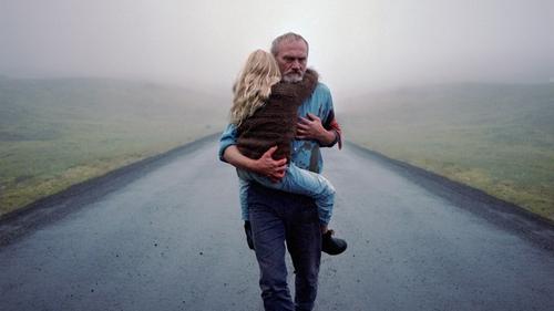 Ingvar Sigurdsson and Ída Mekkín Hlynsdóttir in A White, White Day