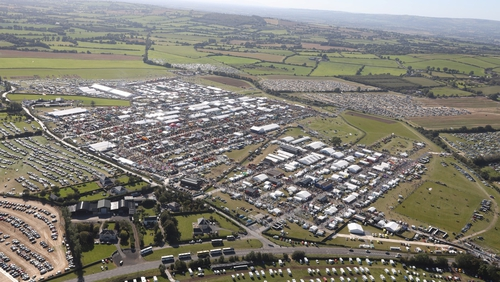The Ploughing Trade Exhibition had almost 300,000 attendees in 2019