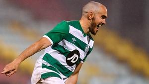 Joey O'Brien celebrates scoring the winning penalty