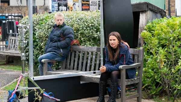 Perspex screens allow EastEnders actor to appear closer than they are