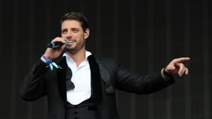 Keith Duffy - could he be King of the Castle?