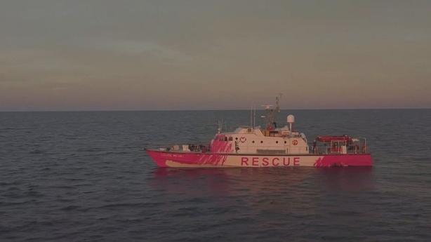 Banksy-funded Mediterranean rescue boat calls for urgent help