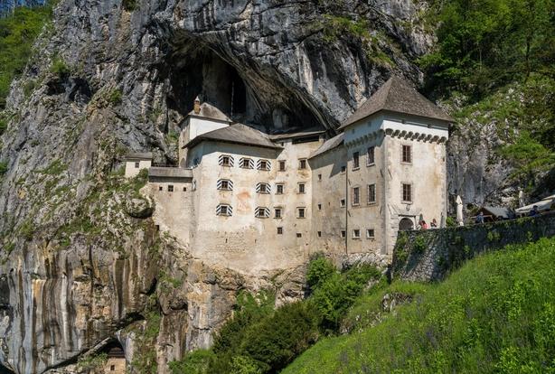 Predjama Castle, Slovenia (iStock/PA)