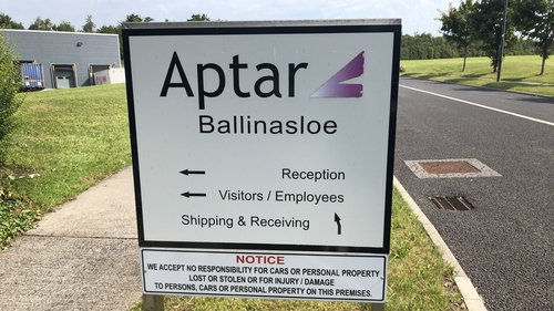 Aptar has been in Ballinasloe for over 20 years and is based at the IDA business park in the town