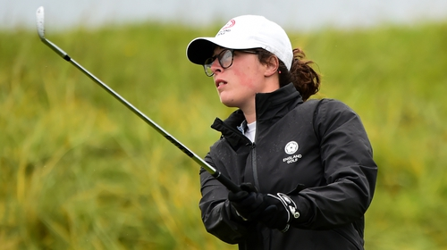 Emily Toy in action at the Women's Amateur Championship