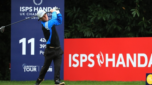 Brendan Lawlor in action at the Belfry