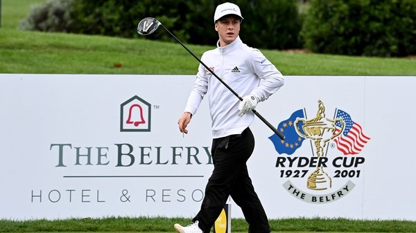 Brendan Lawlor made history at the Belfry