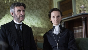Mark O'Halloran and Norma Sheahan in Dead Still, which airs on RTÉ this Autumn
