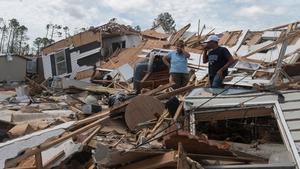 Hurricane Laura caused widespread destruction