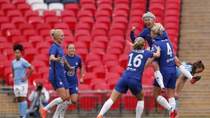 Millie Bright (r) take the plaudits after her goal